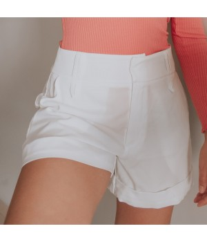 Short Dora Off White